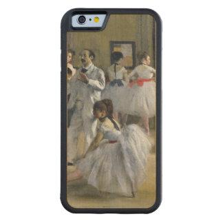 Coque Pare-chocs En Érable iPhone 6 Edgar Degas | le foyer de danse à l'opéra