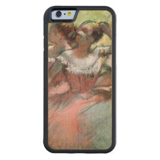 Coque Pare-chocs En Érable iPhone 6 Edgar Degas | quatre ballerines sur l'étape