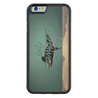 Coque Pare-chocs En Érable iPhone 6 Fille du nord-ouest Pacifique de PIÈCE EN T