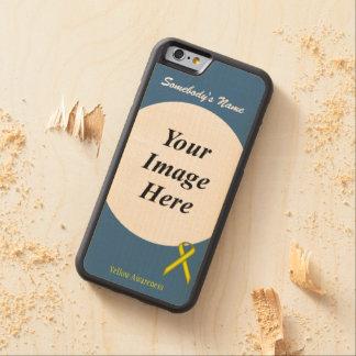 Coque Pare-chocs En Érable iPhone 6 Modèle standard jaune de ruban par Kenneth Yoncich
