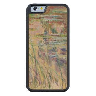 Coque Pare-chocs En Érable iPhone 6 Réflexions de Claude Monet | sur l'eau, 1917