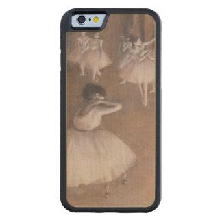 Coque Pare-chocs En Érable iPhone 6 Répétition de ballet d'Edgar Degas | sur l'étape,