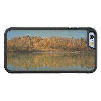 Coque Pare-chocs En Érable iPhone 6 Rivière du nord de Saskatchewan en automne