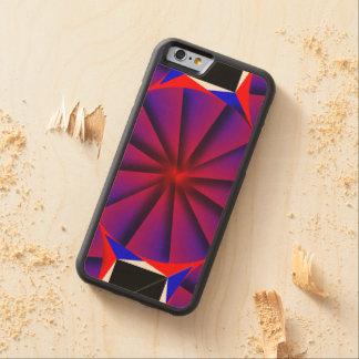 Coque Pare-chocs En Érable iPhone 6 Soleil sans fin