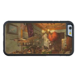 Coque Pare-chocs En Érable iPhone 6 Steampunk - Hall de l'émerveillement 1908