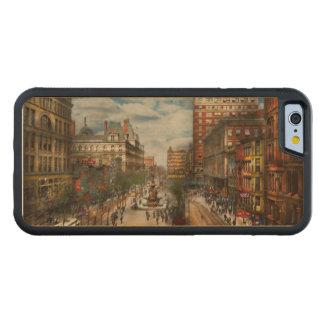 Coque Pare-chocs En Érable iPhone 6 Ville Cincinnati OH - fontaine 1907 de Tyler
