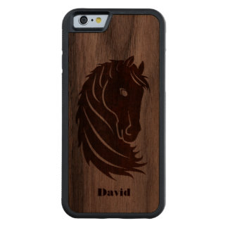 COQUE PARE-CHOCS EN NOYER iPhone 6