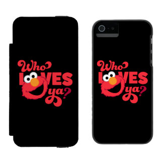 Coque-portefeuille iPhone 5 Incipio Watson™ Amour Elmo