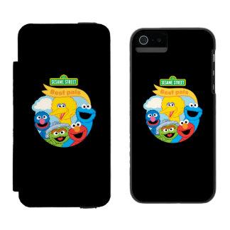 Coque-portefeuille iPhone 5 Incipio Watson™ Art de caractère de Sesame Street