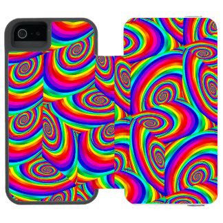 Coque-portefeuille iPhone 5 Incipio Watson™ Caisse cubique de portefeuille de téléphone de