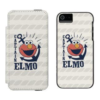Coque-portefeuille iPhone 5 Incipio Watson™ Capitaine Elmo