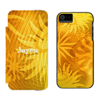 Coque-portefeuille iPhone 5 Incipio Watson™ Conservation des formes abstraites parties du