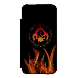 Coque-portefeuille iPhone 5 Incipio Watson™ Coque iphone de portefeuille de sept péchés