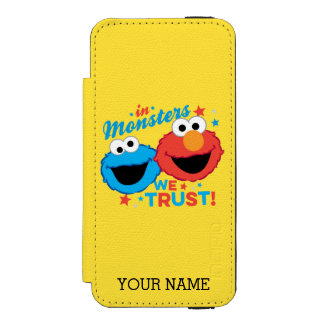 Coque-portefeuille iPhone 5 Incipio Watson™ Dans les monstres nous faisons confiance ! |