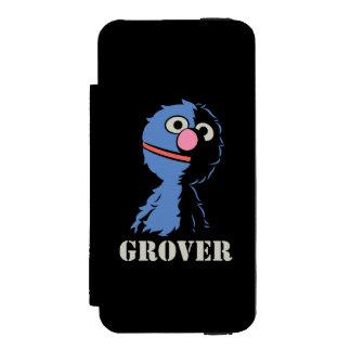 Coque-portefeuille iPhone 5 Incipio Watson™ Grover demi