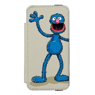 Coque-portefeuille iPhone 5 Incipio Watson™ Grover vintage | ajoutent votre nom