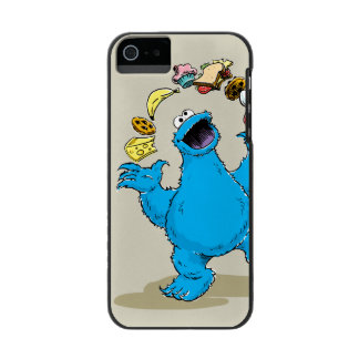 Coque-portefeuille iPhone 5 Incipio Watson™ Jonglerie vintage de monstre de biscuit