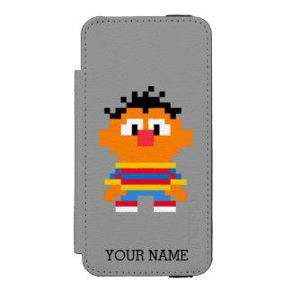 Coque-portefeuille iPhone 5 Incipio Watson™ L'art | de pixel d'Ernie ajoutent votre nom