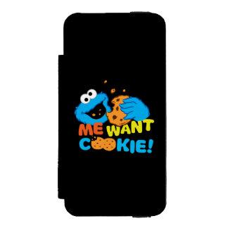 Coque-portefeuille iPhone 5 Incipio Watson™ Le biscuit veut le biscuit