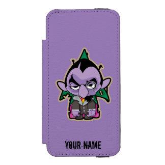 Coque-portefeuille iPhone 5 Incipio Watson™ Le compte von Count Zombie | ajoutent votre nom