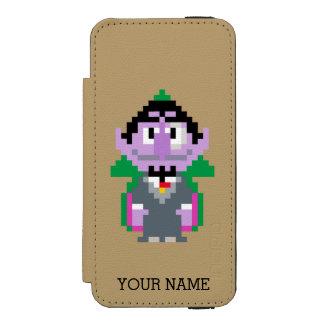 Coque-portefeuille iPhone 5 Incipio Watson™ Le compte von Pixel Art | ajoutent votre nom