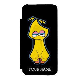 Coque-portefeuille iPhone 5 Incipio Watson™ Le grand zombi d'oiseau | ajoutent votre nom