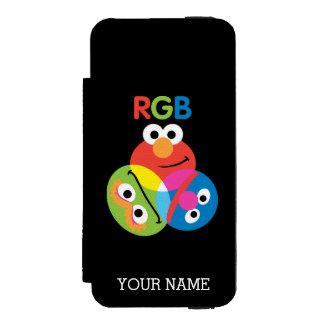 Coque-portefeuille iPhone 5 Incipio Watson™ Le Sesame Street | de RVB ajoutent votre nom