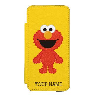 Coque-portefeuille iPhone 5 Incipio Watson™ Le style | de laine d'Elmo ajoutent votre nom