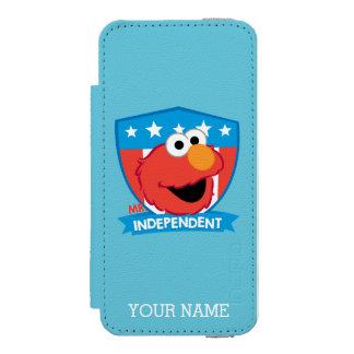 Coque-portefeuille iPhone 5 Incipio Watson™ M. Independent Elmo | ajoutent votre nom
