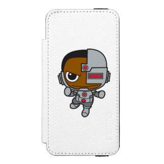 Coque-portefeuille iPhone 5 Incipio Watson™ Mini cyborg