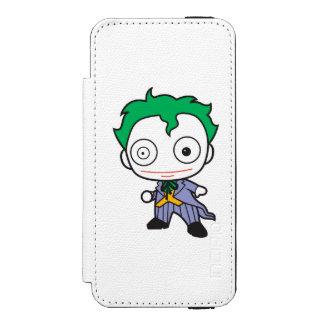 Coque-portefeuille iPhone 5 Incipio Watson™ Mini joker