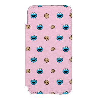 Coque-portefeuille iPhone 5 Incipio Watson™ Monstre de biscuit et motif de rose de biscuits