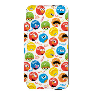 Coque-portefeuille iPhone 5 Incipio Watson™ Motif de caractère de cercle de Sesame Street