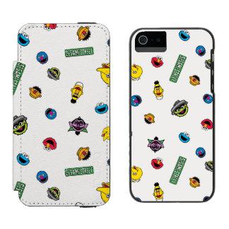 Coque-portefeuille iPhone 5 Incipio Watson™ Motif de caractère de Sesame Street