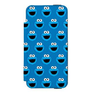 Coque-portefeuille iPhone 5 Incipio Watson™ Motif de sourire de monstre de biscuit