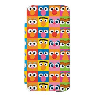Coque-portefeuille iPhone 5 Incipio Watson™ Motif de yeux de caractère de Sesame Street