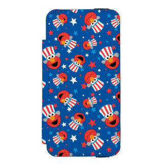 Coque-portefeuille iPhone 5 Incipio Watson™ Motif patriotique d'Elmo