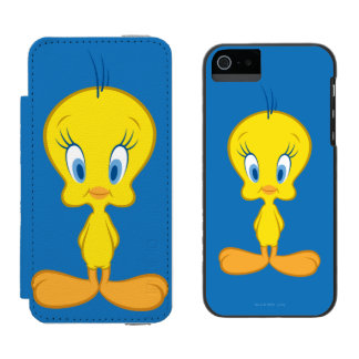 Coque-portefeuille iPhone 5 Incipio Watson™ Oiseau innocent de Tweety™ | petit