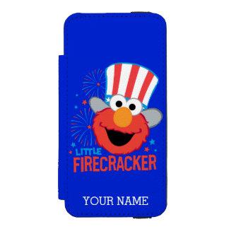 Coque-portefeuille iPhone 5 Incipio Watson™ Peu de pétard Elmo | ajoutent votre nom