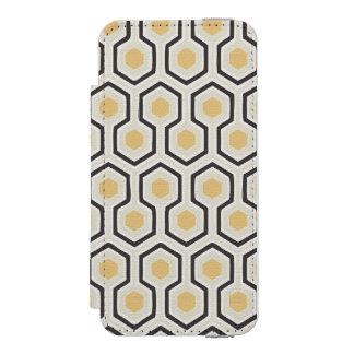 Coque-portefeuille iPhone 5 Incipio Watson™ Rétro ruche de motif de nid d'abeilles