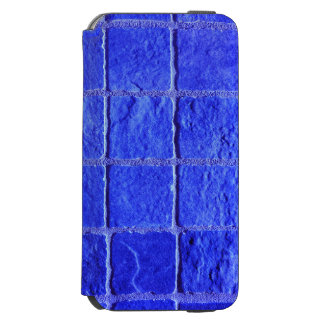 Coque-portefeuille iPhone 6 Incipio Watson™ 6 carreaux arrière-plan bleus iPhone