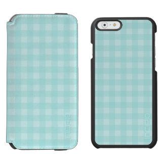 Coque-portefeuille iPhone 6 Incipio Watson™ Arrière - plan Checkered de motif de rétro guingan