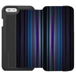 Coque-portefeuille iPhone 6 Incipio Watson™ Arrière - plan rayé abstrait