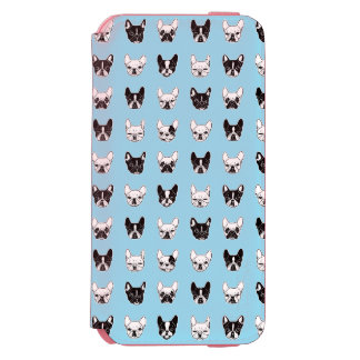 Coque-portefeuille iPhone 6 Incipio Watson™ Collage mignon de famille de chienchien de