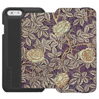 Coque-portefeuille iPhone 6 Incipio Watson™ De roses motif vintage assez