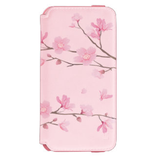 Coque-portefeuille iPhone 6 Incipio Watson™ Fleurs de cerisier