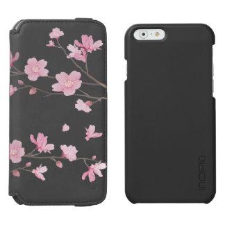 Coque-portefeuille iPhone 6 Incipio Watson™ Fleurs de cerisier - arrière - plan transparent