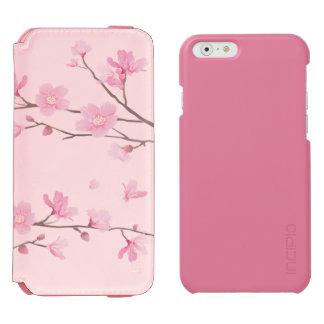 Coque-portefeuille iPhone 6 Incipio Watson™ Fleurs de cerisier - rose