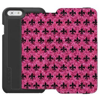 COQUE-PORTEFEUILLE iPhone 6 INCIPIO WATSON™ MARBRE DE RYL1 BK-PK