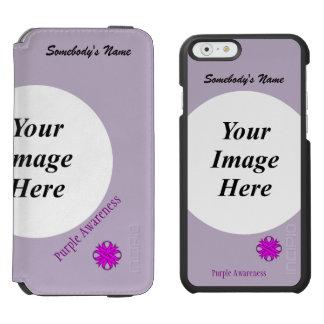 Coque-portefeuille iPhone 6 Incipio Watson™ Modèle de ruban de trèfle commun